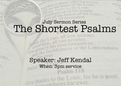 The Shortest Psalms