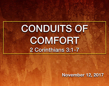 Conduits of Comfort