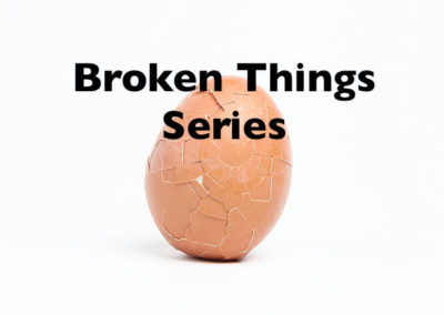 God Only Saves Broken People