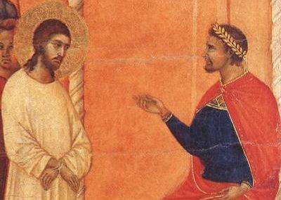 They Met the Saviour – Pilate